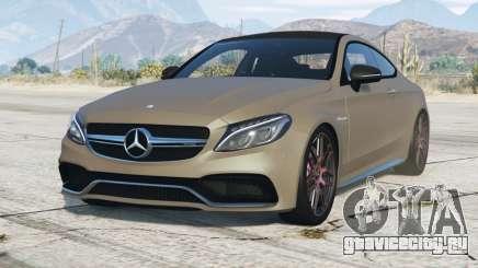 Mercedes-AMG C 63 Coupe (C205) 2016〡add-on для GTA 5
