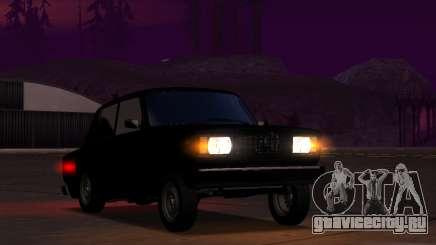 Vaz 2107 Kruq Plyonka для GTA San Andreas