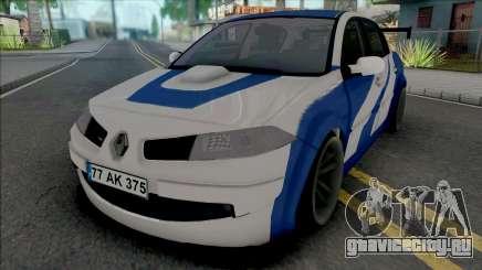 Renault Megane GTR (MRT) для GTA San Andreas
